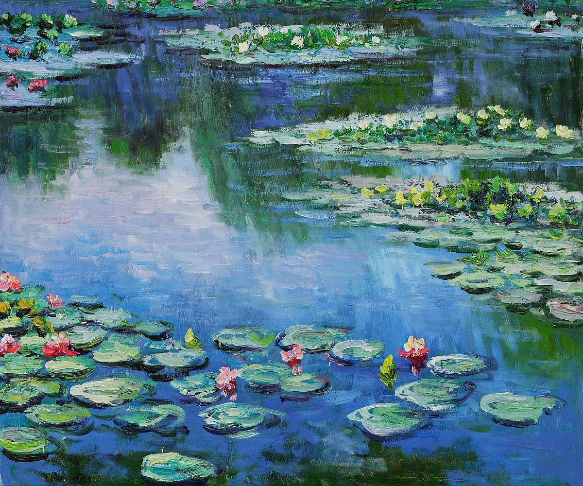 Claude Monet Waterlilies
