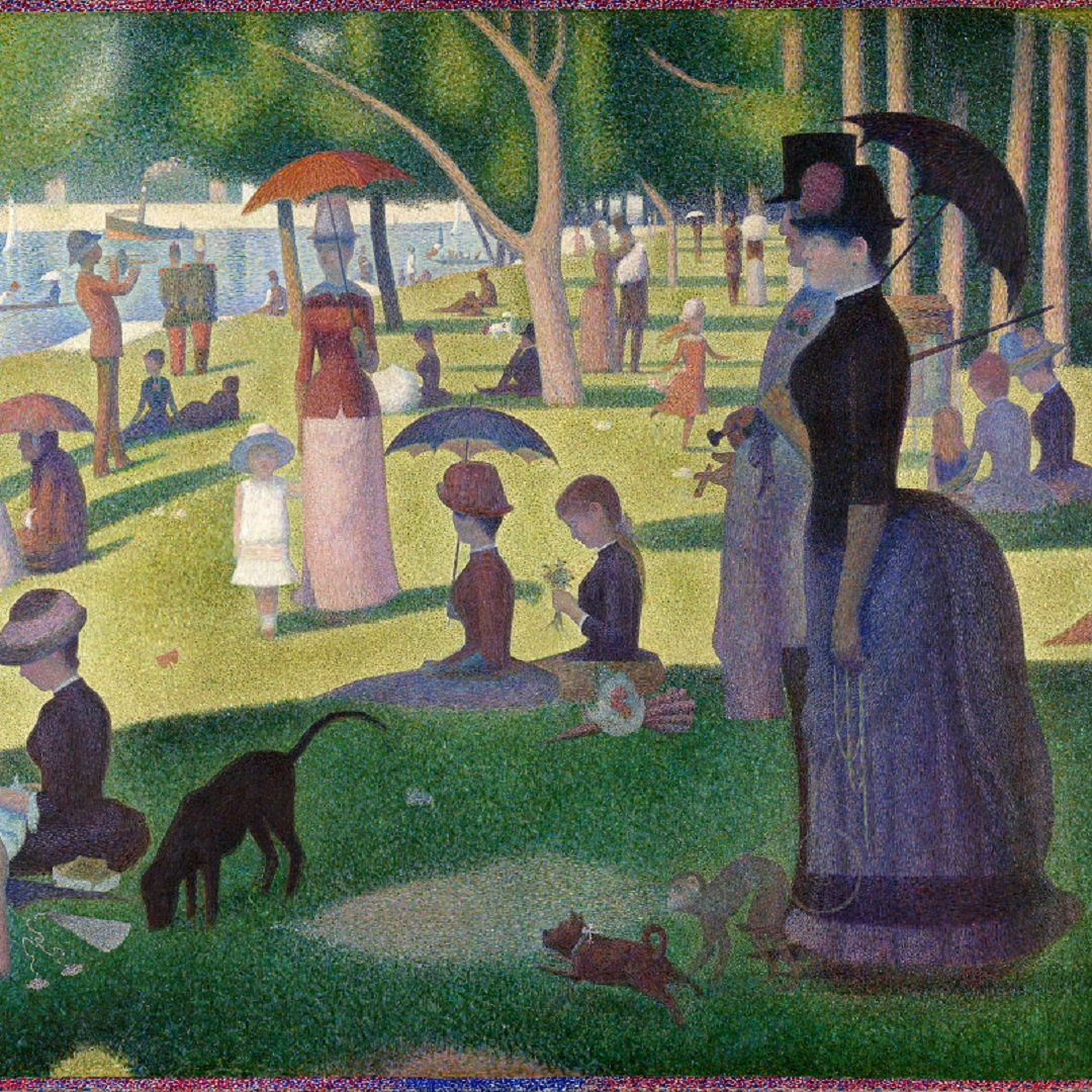 A Sunday Afternoon on the Island of La Grande Jatte2 (Georges Seurat, 1886)