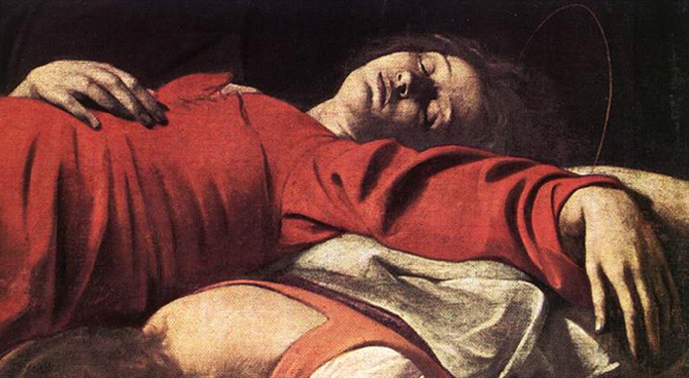 death of a caravaggio Understanding virgin